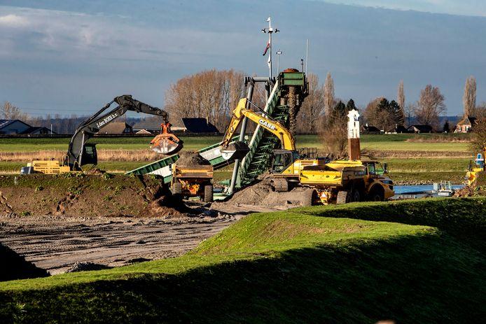Archiefbeeld van werkzaamheden op het Olasfa-terrein van de afgelopen maanden.