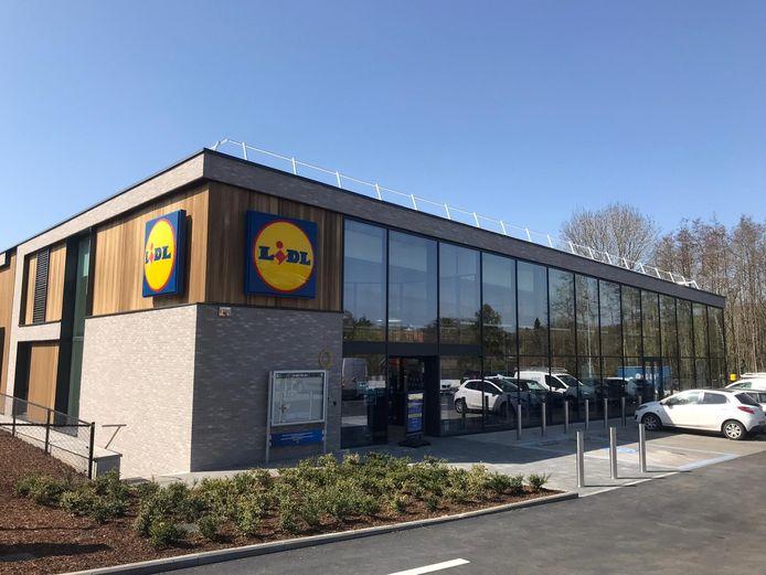 De nieuwe Lidl-supermarkt in Sint-Genesius-Rode.