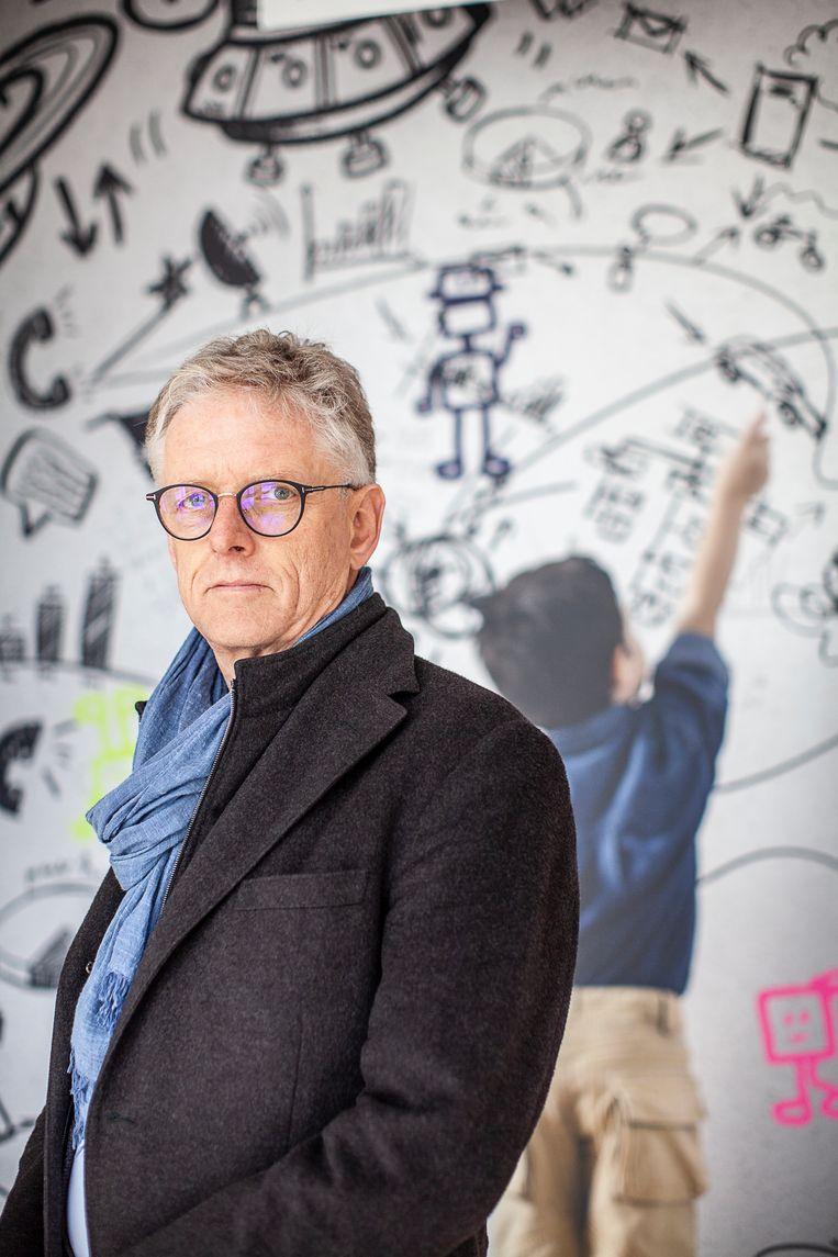 Kinderpsychiater Peter Dijkshoorn. Beeld Harry Cock/de Volkskrant