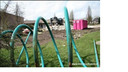 Bij de sloop van het pand in 2009 had het werk de kleur van Connexxion aangenomen. Sindsdien is het spoorloos.