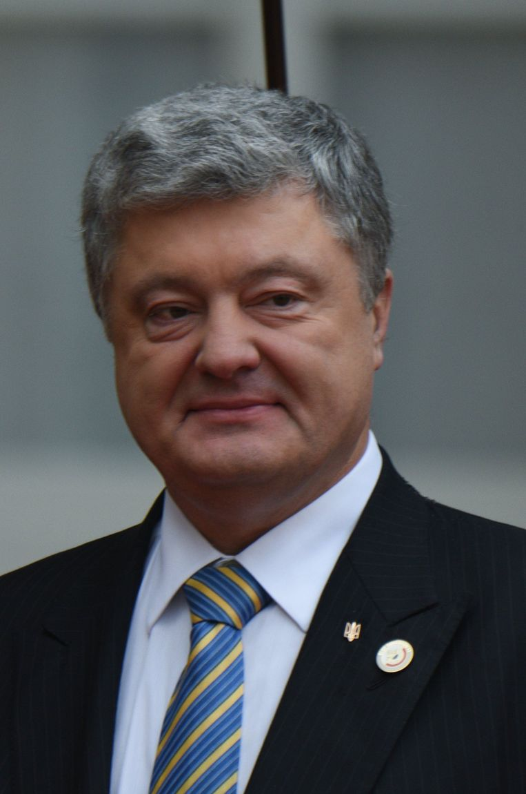 Oekraïens president Petro Porosjenko. Beeld Photo News