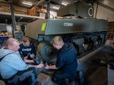 Shermantank mogelijk niet op tijd klaar voor Supersum