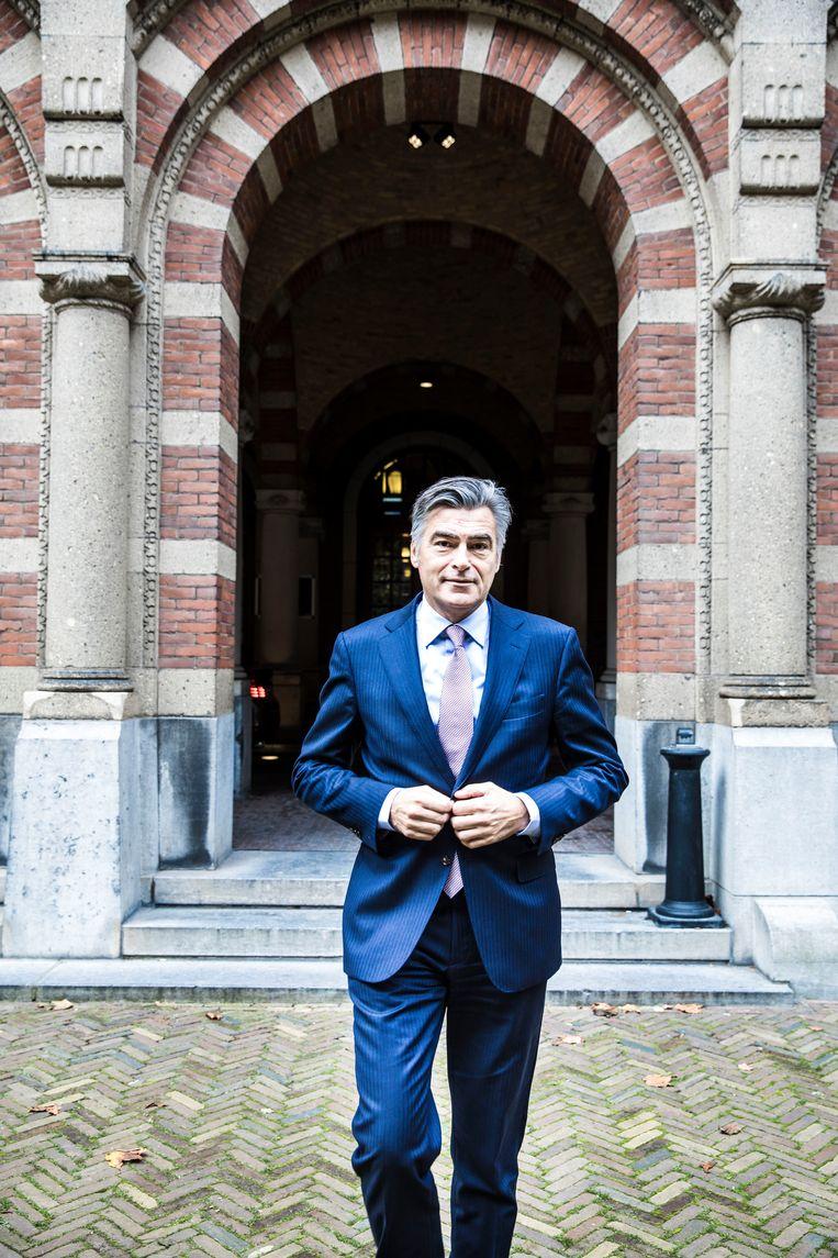 Adriaan Visser (1965) was wethouder Financiën, Organisatie, Haven, Binnenstad en Sport.  Beeld Marlena Waldthausen