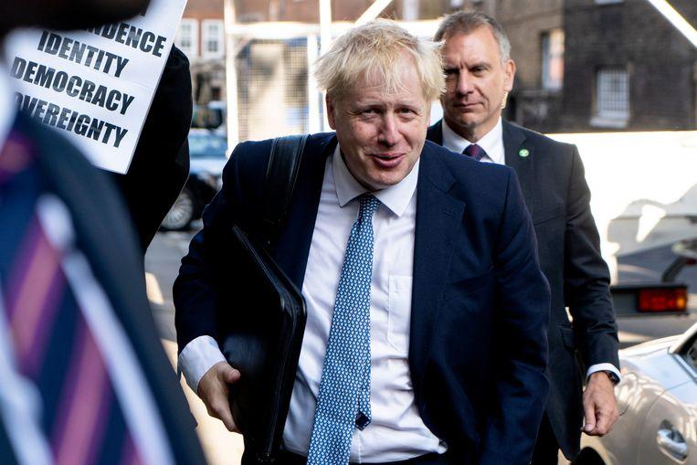 Boris Johnson. Beeld AFP