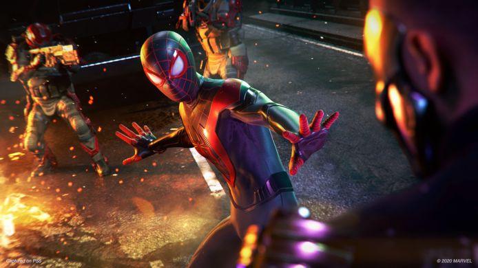 Kijk eens naar de glans op dat pak van Spider-Man: de nieuwe 'ray tracing'-technologie in de PlayStation 5 zorgt daarvoor.