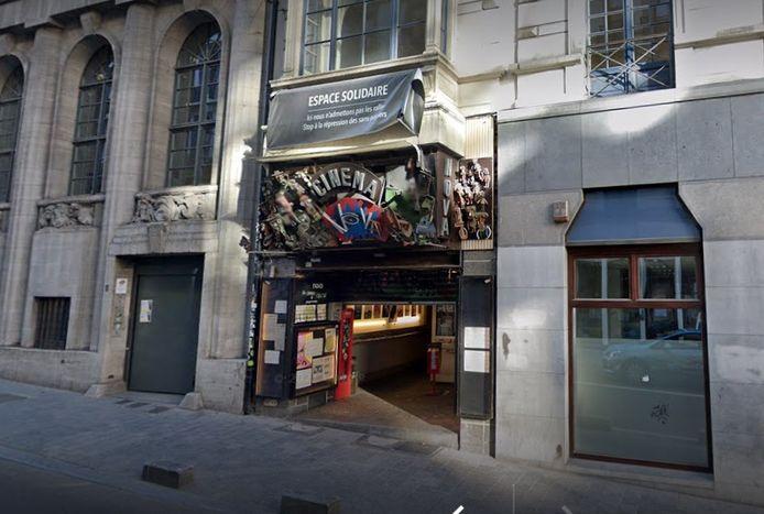 Le cinéma Nova à Bruxelles.