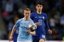 Oud PSV'er Oleksandr Zintsjenko speelt voor Manchester City.