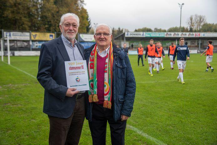Klem De Gussem en Richard Goossens schrijven een boek over het stamnummer 95 van Racing Wetteren.