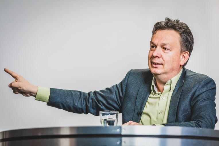 Stefaan Van Hecke. Beeld Jan Aelberts