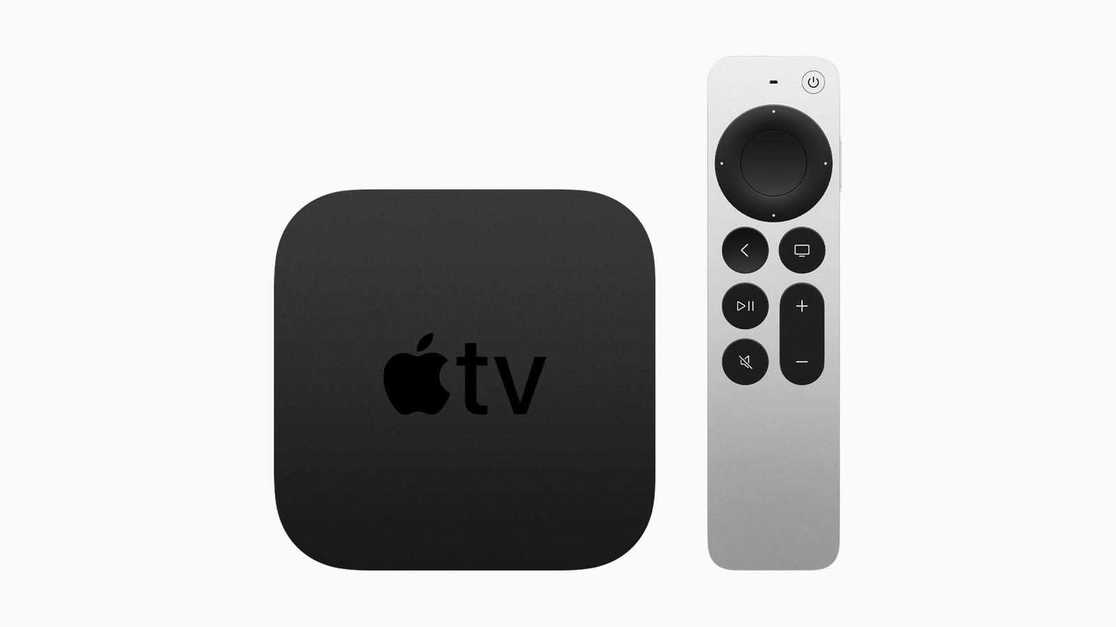 De volgende generatie Apple TV 4K en Siri afstandsbediening.