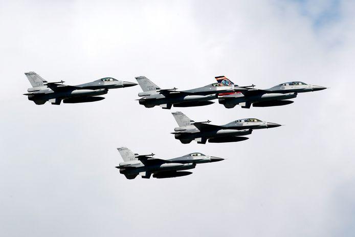 Taiwanese F-16's.