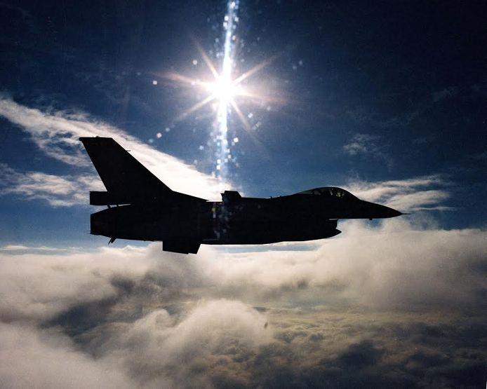 Vanwege het slechte weer in Friesland bewaakt Volkel nu het Nederlandse luchtruim.