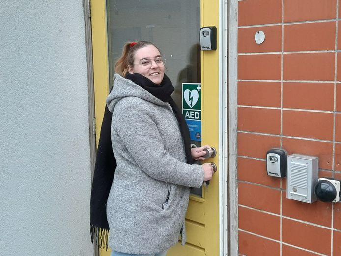,,Blij dat ik hier weg ben.'' Patricia te Wechel (23) trekt de deur van het complex Noorderkeerkring definitief achter zich dicht.