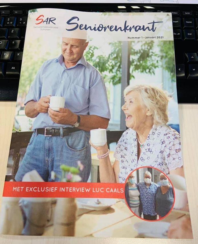 De eerste editie van de seniorenkrant in Schoten is een feit