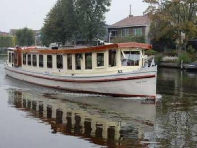 De Croosboot 'Lady Kim'.