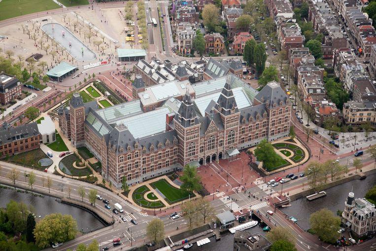 Het Rijksmuseum. Beeld Paul Deelman