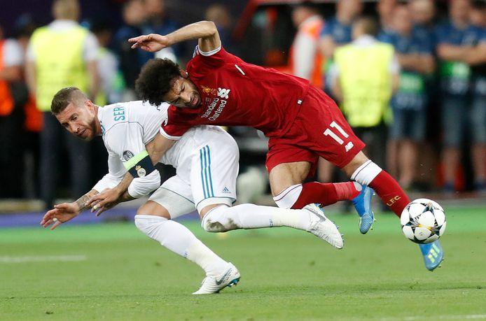 In 2018 stonden Liverpool en Real Madrid tegenover elkaar in de finale. Real Madrid won met 3-1. Mohamed Salah werd vroeg in de wedstrijd uitgeschakeld door Sergio Ramos.
