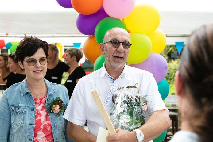 Jan Veurink en zijn vrouw Gea