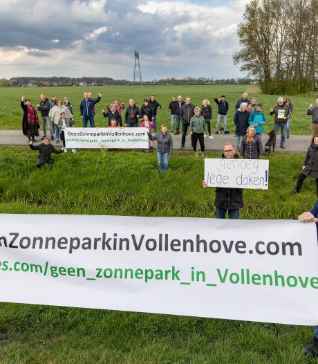 Een zonnepark in de Bentpolder? Vollenhove mag het zeggen