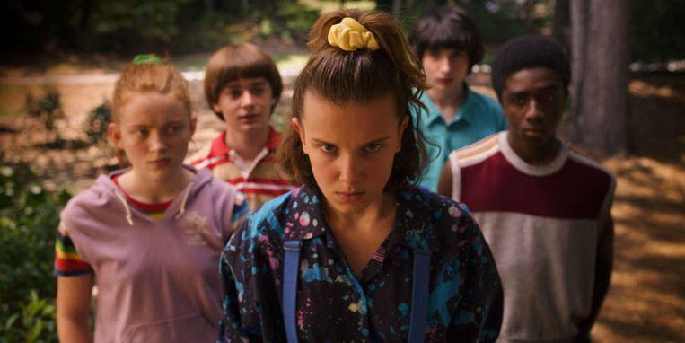 Een beeld uit het derde seizoen van 'Stranger Things' Beeld Netflix