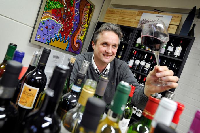 Wijnhandelaar Ronny Bergsma