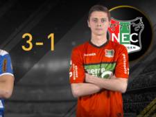 Verlies voor NEC in E-Divisie, Vitesse speelt gelijk