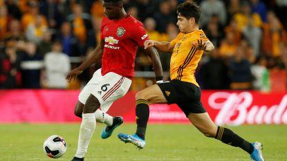 Manchester United blijft steken op 1-1-gelijkspel tegen Wolverhampton