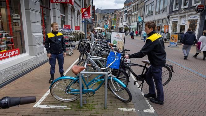Kamper plan om fietsenchaos aan te pakken is een van de lange adem: boetes blijven voorlopig uit