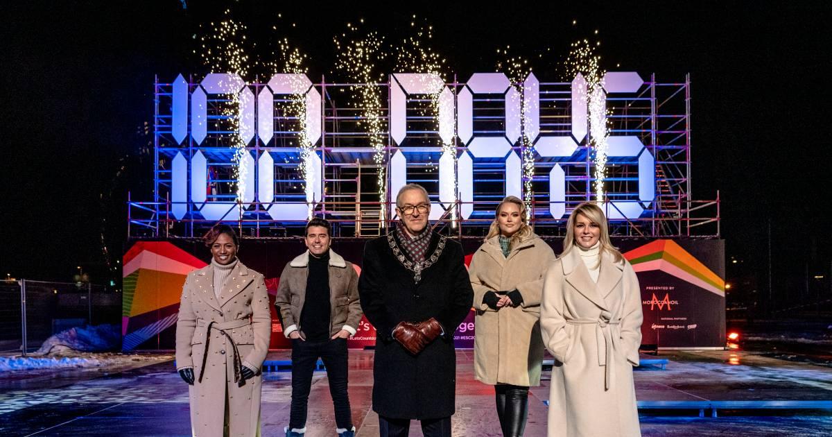 Chantal Janzen geloofde niet dat ze het Songfestival mocht presenteren: 'Dat gaan ze nooit doen' - AD.nl