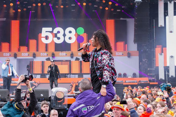 Een eerdere editie van Radio 538 op het Chasséveld, met een optreden van Ali B.