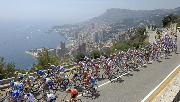 De Tour de France komt in 2009 langs Monaco. Beeld epa