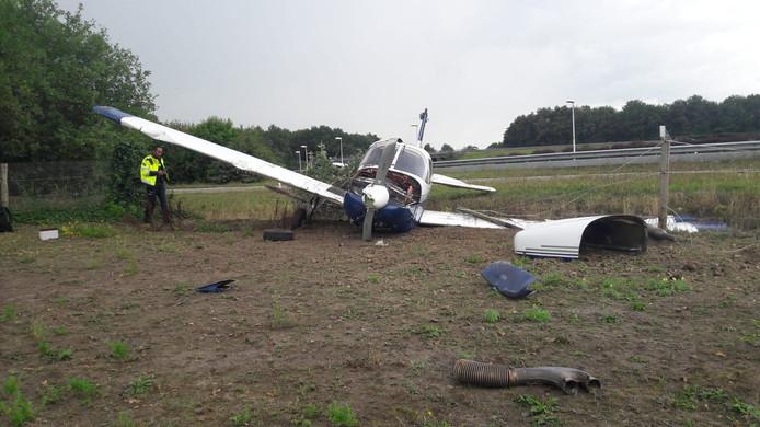 Zware schade aan vliegtuig dat van baan schoot