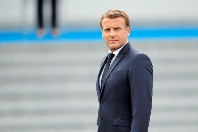 Franse president Emmanuel Macron.