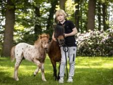 Hartenwens 10-jarige Tijn uit Lattrop komt uit; hij gaat  kleine paarden fokken