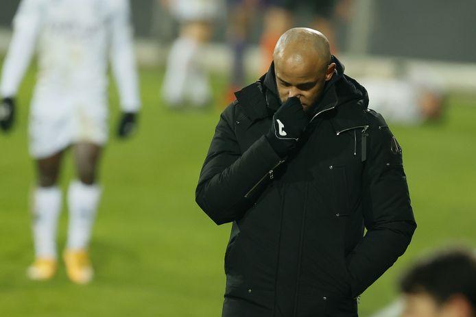 Le Sporting d'Anderlecht peut regretter les occasions manquées en première période.