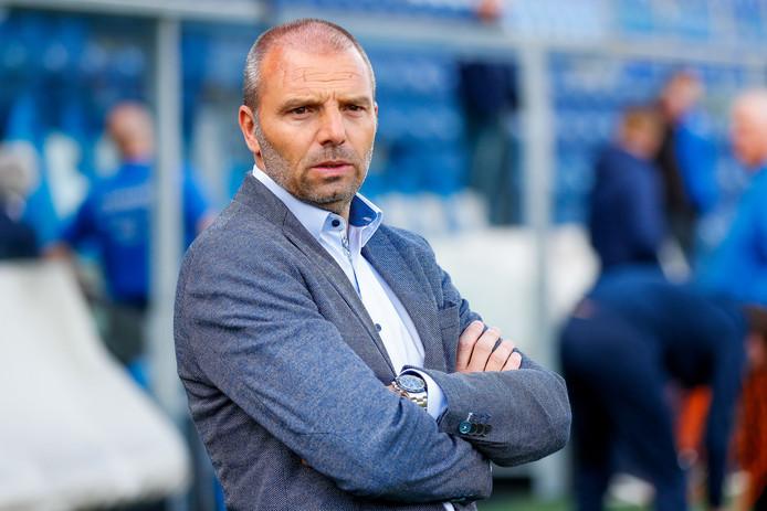Maurice Steijn voor PEC Zwolle - VVV eind vorig seizoen op 12 mei 2019.