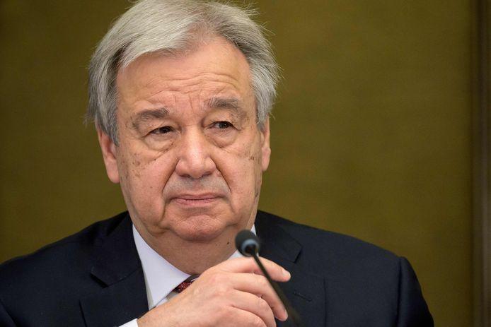 Antonio Guterres, secrétaire général de l'ONU.
