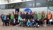 Leerlingen Don Bosco oefenen hoe ze snel uit een bus geraken