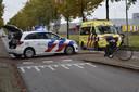 Ongeval in Breda, vrouw op fiets aangereden.