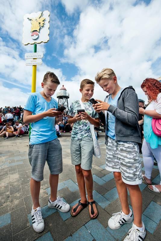 Kijkduin noemt zichzelf sinds kort de Pokémon-hoofdstad van Nederland.
