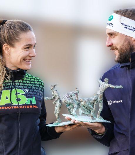 Kamminga en Hekman beste marathonschaatsers