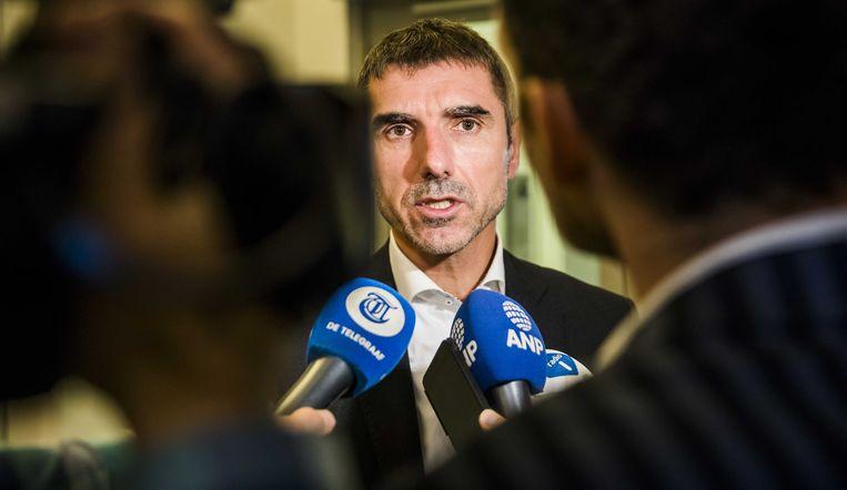Staatssecretaris Paul Blokhuis van Volksgezondheid, Welzijn en Sport. Beeld ANP - Bart Maat