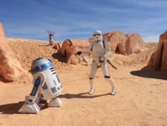 Star Wars fans dansen op 'Happy'