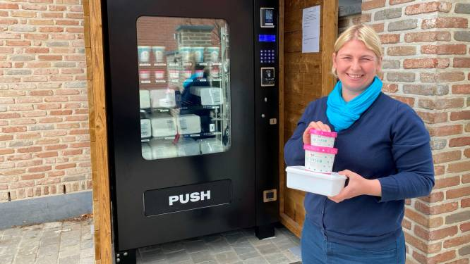 Inventief met automaten: deze hadden we nog niet... de ijsjesautomaat