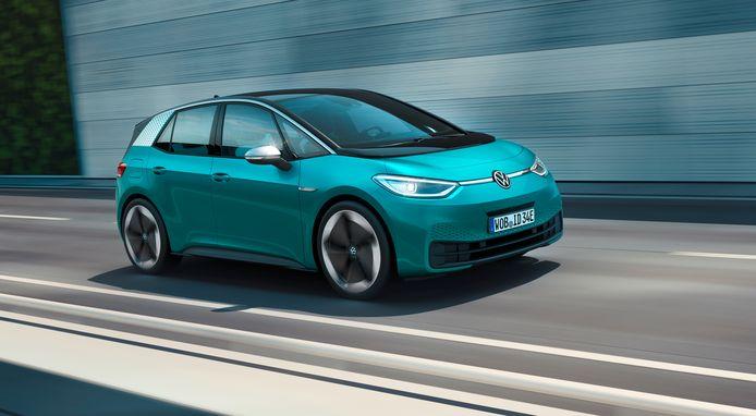 De elektrische ID.3 moet bij Volkswagen in de voetsporen van de Kever en de Golf treden.