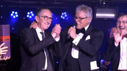 Video: hele feestzaal zingt voor 80ste verjaardag Willy Claes