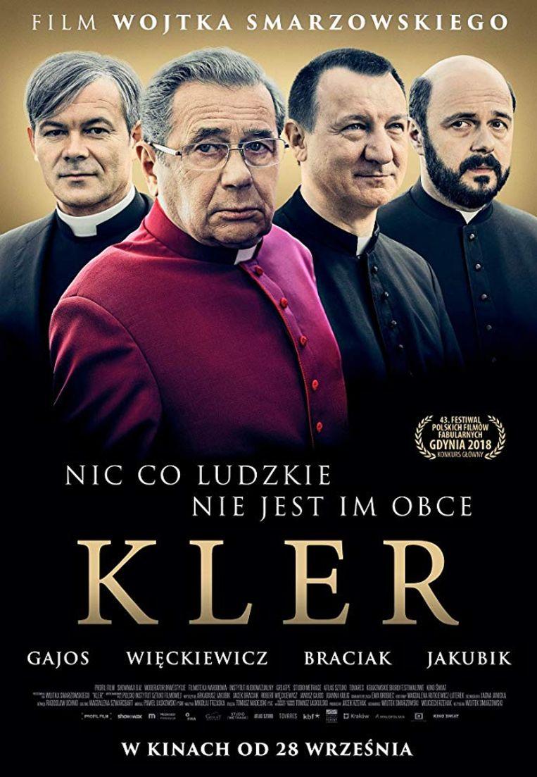 Affiche van de Poolse bioscoopfilm 'Kler'. Beeld Kler