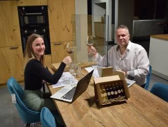 Creatief zijn in coronatijden: blinde wijnproeverij achter je computerscherm