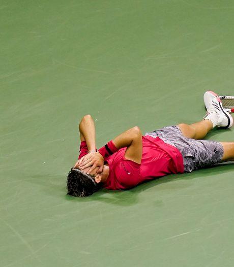 Kroonprins Thiem lost belofte in en wint US Open na zenuwslopende finale