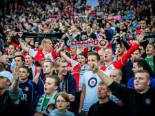 Rome wacht rood-witte invasie van Feyenoordfans